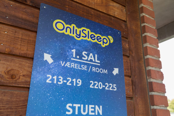 Hotel Only Sleep Slagelse, Orienteringsskilt,